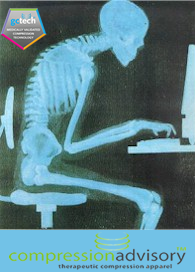 Slouching in Front of a Computer - Xray.fw